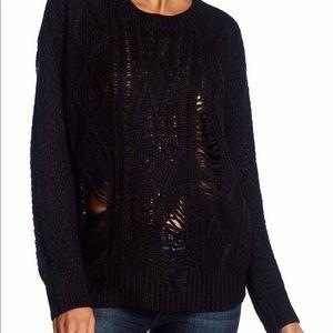 Perfect Destroyed Knit Lightweight Summer Sweater